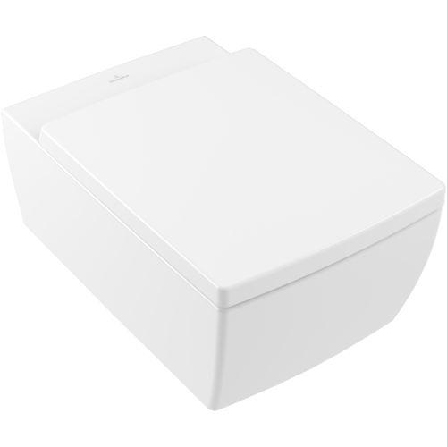 inodoro suspendido / de cerámica / sin brida