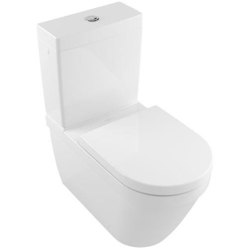 inodoro de pie / de cerámica / con cisterna de mochila / con cisterna empotrada