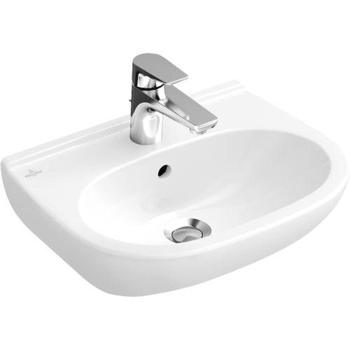 lavabo suspendido / de porcelana / contemporáneo