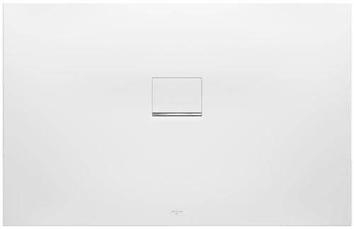 plato de ducha rectangular / independiente / de material compuesto / a medida