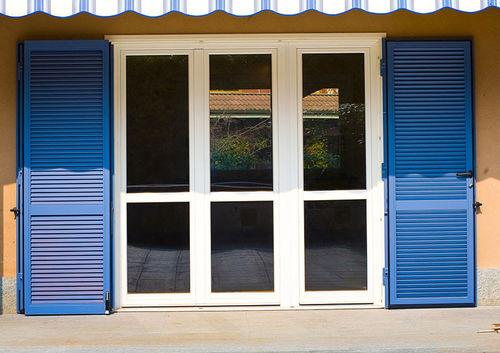 contraventana abatible / de acero / para ventana / acústica