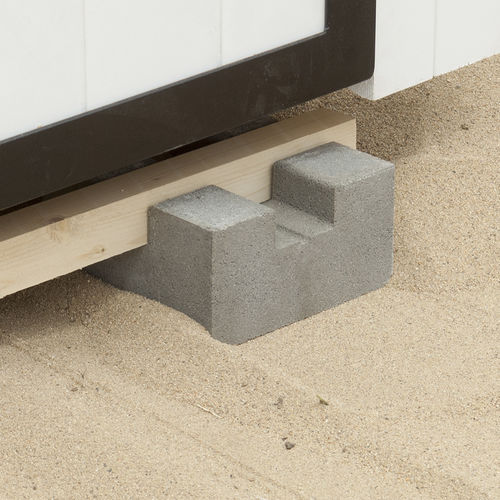 pedestal para suelo técnico de exterior