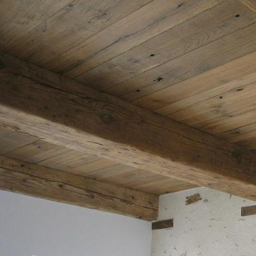 viga de madera maciza