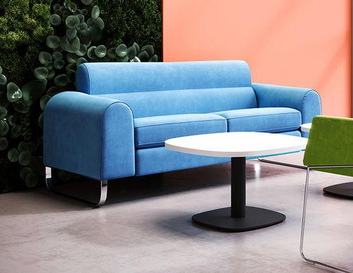 sofá contemporáneo / de tejido / para centro sanitario / para escuela