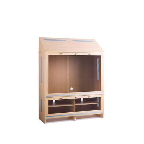 mueble de televisión contemporáneo / de melamina