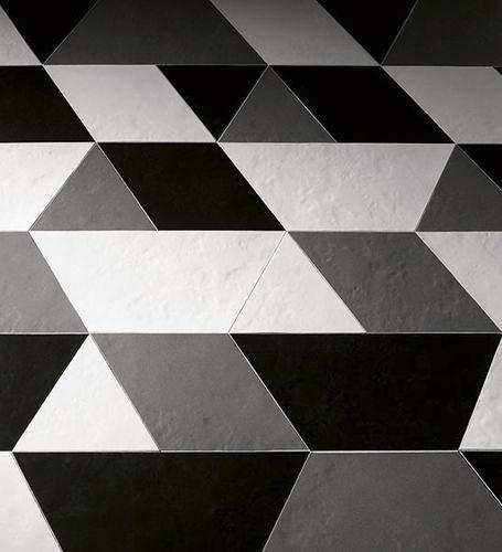 baldosa de interior / de suelo / de cerámica / con motivos geométricos