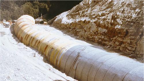 geotextil no tejido / de PE / para drenaje / para filtración