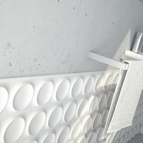 perfil de acabado de cerámica / para baldosas / de canto recto