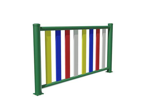valla para parque infantil