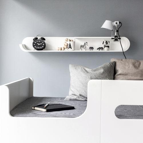 estantería mural / contemporánea / de abedul / de contrachapado