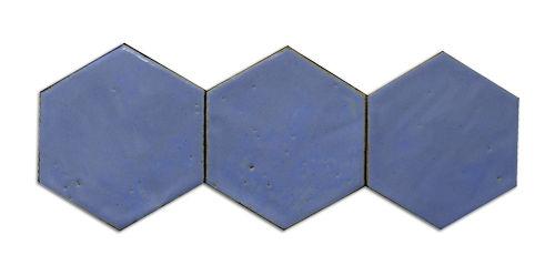 baldosa de terracota de pared / negra / azul / hecha a mano