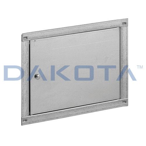 trampilla de inspección para pared / rectangular / eléctrica / de metal