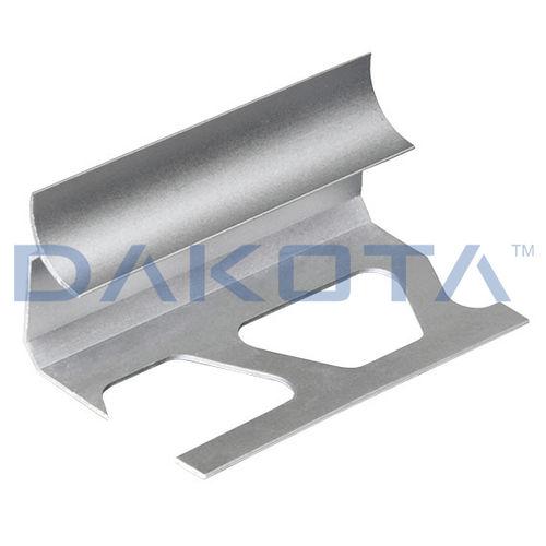 perfil de aluminio pulido / de esquina