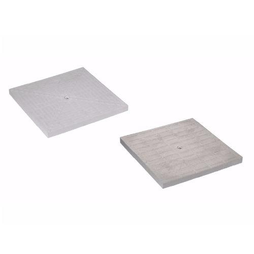 tapadera de inspección de polipropileno / cuadrada