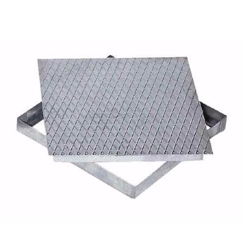 tapadera de inspección de acero galvanizado / cuadrada