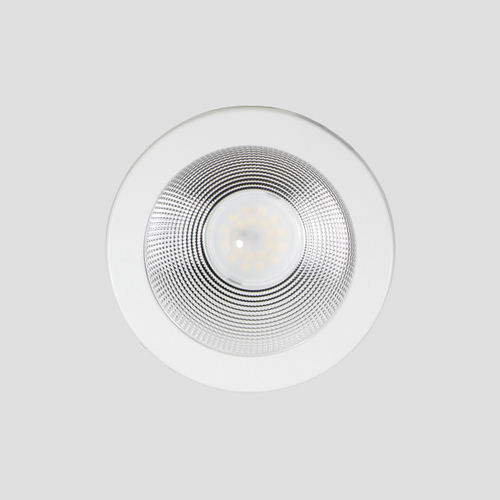 downlight empotrable de techo / LED / redondo / de aluminio