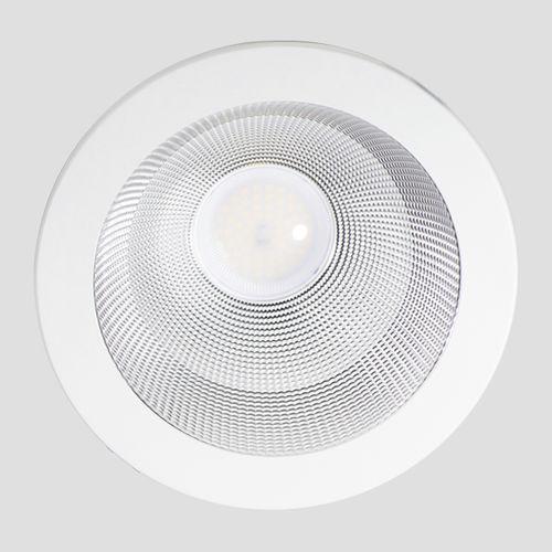 downlight empotrable de techo / LED / redondo / de aluminio