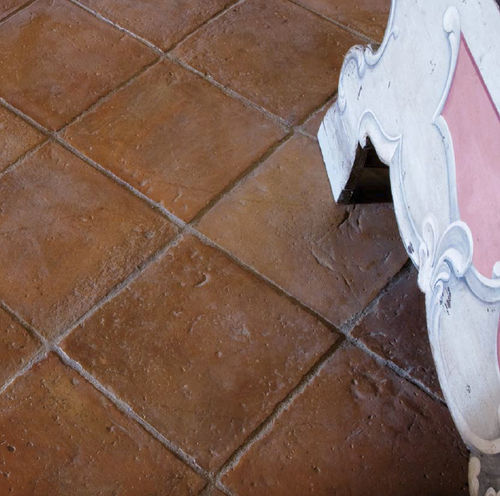 pavimento de terracota / para interior / para exterior / para habitación húmeda