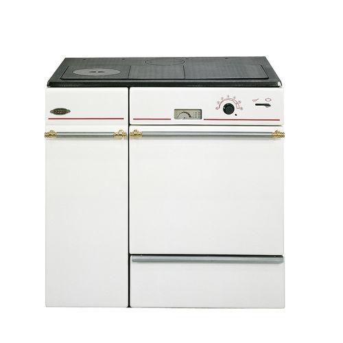 cocina con horno de leña / mixta / para caldera