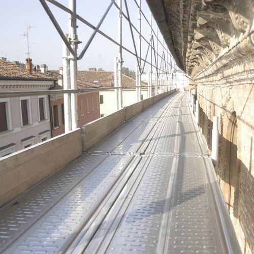 plataforma de andamio de acero galvanizado
