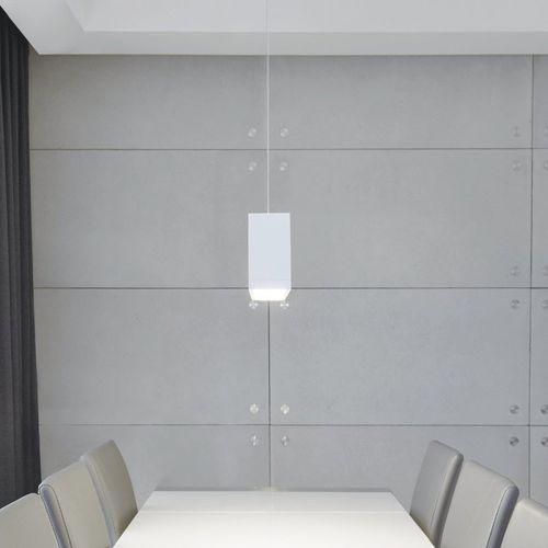 downlight suspendido / LED / halógeno / cuadrado