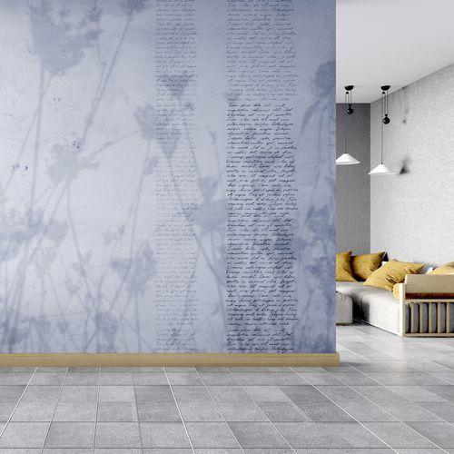 papel pintado vintage / de textil no tejido / de vinilo / con motivos florales