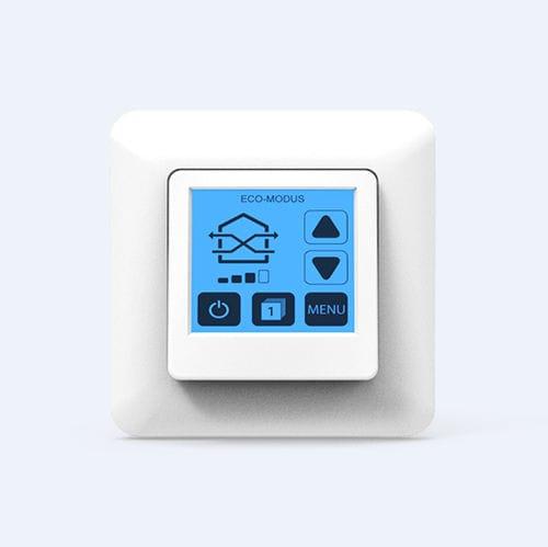 pantalla táctil para sistema de ventilación