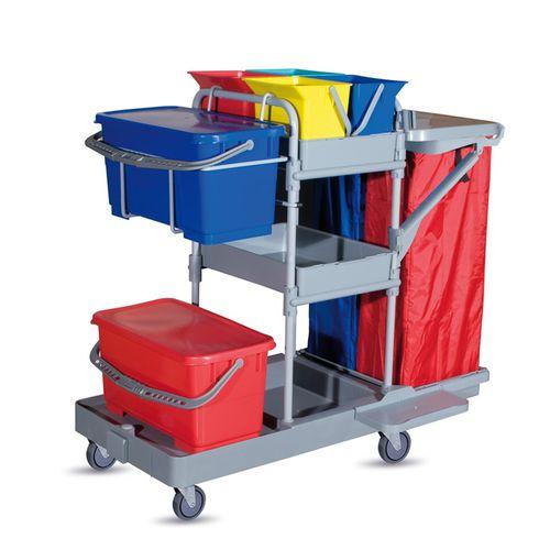carrito de limpieza