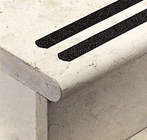 cinta autoadhesiva resiliente / de caucho / para piscina / para peldaños de escalera
