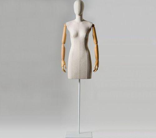 busto de maniquí mujer