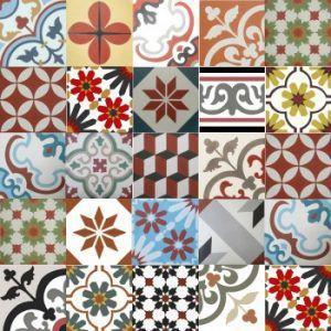 baldosa hidráulica patchwork