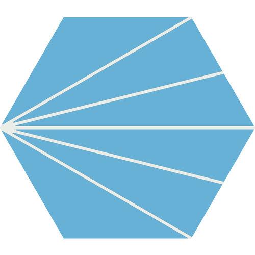baldosa hidráulica hexagonal