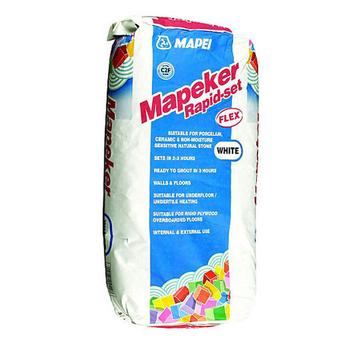 mortero cola de sellado / para baldosas / de cemento / de secado rápido
