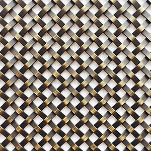 tela metálica tejida para mueble