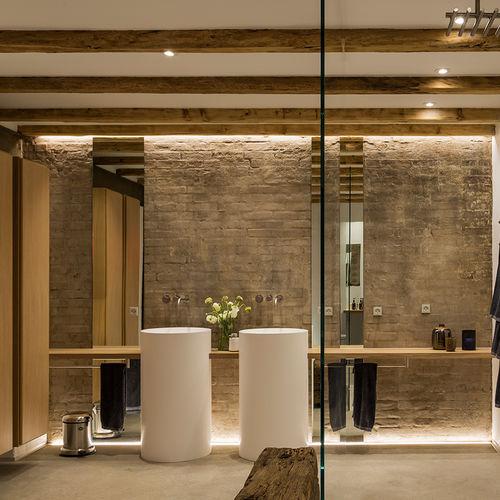 baño contemporáneo