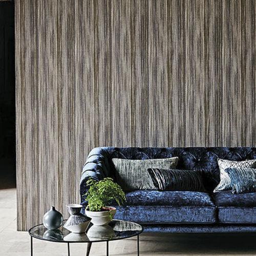 revestimiento de pared para uso residencial / impreso / aspecto tela / para interior