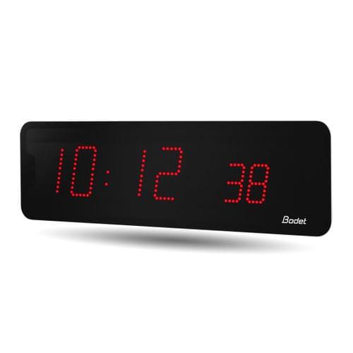 reloj contemporáneo / digital / de pared / LED