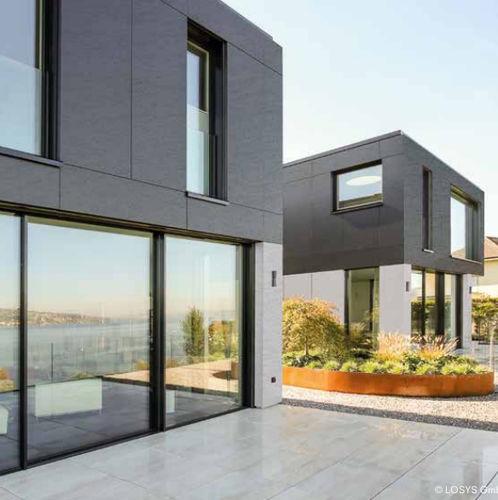 revestimiento de fachada de paneles - ALUCOBOND