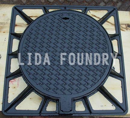 tapadera de inspección de hierro fundido - Botou city lida foundry co.,ltd