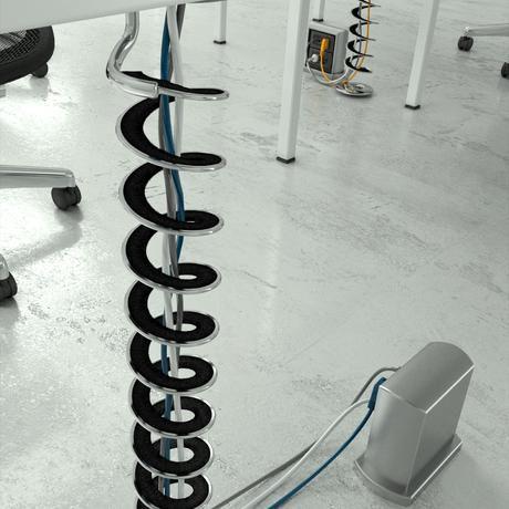 sistema de protección de cables de metal