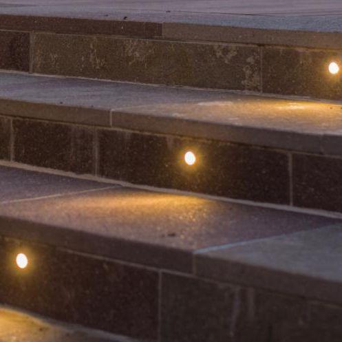 luminaria empotrable de suelo