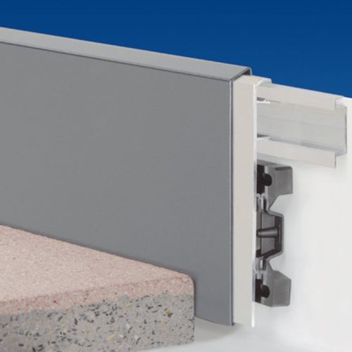 perfil de aluminio / para muro / de cubierta