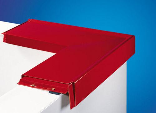 perfil aluminio / de borde / de cubiertas