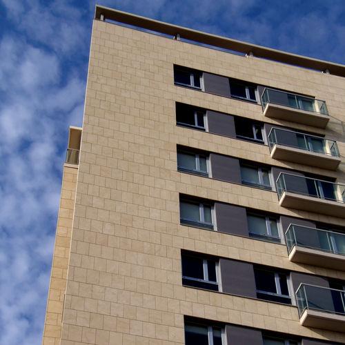fachada ventilada de piedra