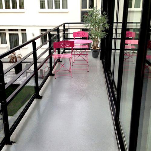 impermeabilizante líquido para techado / para balcón