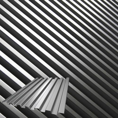 cubierta de placas de acero