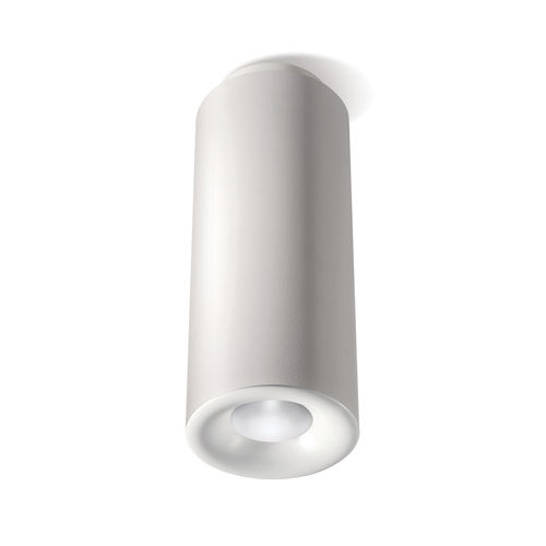 downlight montado en superficie / LED / redondo / de aluminio