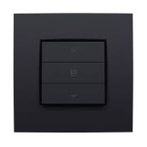 interruptor para estor / para contraventana enrollable / con boton pulsador / triple