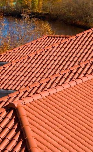 panel de tejado de polímero / estanco / con protección UV / mitación teja