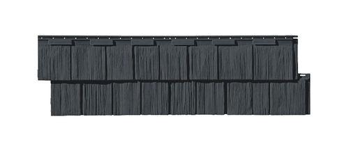 panel de tejado de polímero / con protección UV / estanco / mitación teja